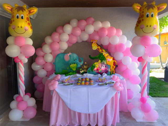 decorations doral party event