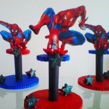 Spiderman_Foam_Centerpieces